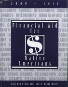 Financial Aid for Native Americans, 2009-2011 0 9781588411808 158841180X