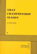 That Championship Season 1st Edition 9780822211266 0822211262