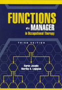 Functions of a Manager in Occupational Therapy 3rd edition 9781556423741 1556423748