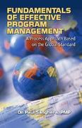 Fundamentals of Effective Program Management 1st Edition 9781932159691 193215969X