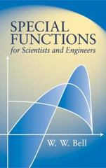 Special Functions for Scientists and Engineers 0 9780486435213 0486435210