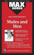 Mules and Men  (MAXNotes Literature Guides) 1st Edition 9780738672038 0738672033