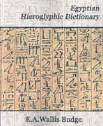 Egyptian Hieroglyphic Dictionary 0 9781594625114 1594625115