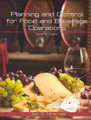 Planning and Control for Food and Beverage Operations 7th edition 9780866123396 0866123393