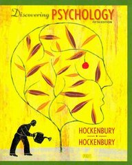 Discovering Psychology & Study Guide 5th edition 9781429217491 1429217499
