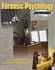 Forensic Psychology 3rd edition 9780495506492 0495506494