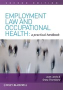Employment Law and Occupational Health 2nd edition 9781405197830 1405197838
