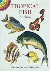 Tropical Fish Stickers 0 9780486281100 0486281108