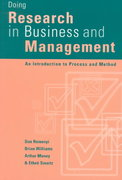 Doing Research in Business and Management 1st edition 9780761959502 0761959505