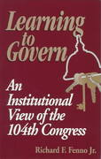 Learning to Govern 1st Edition 9780815727859 0815727852