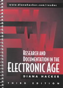 Research and Documentation in the Electronic Age 3rd edition 9780312258627 0312258623