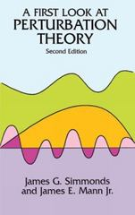 A First Look at Perturbation Theory 2nd Edition 9780486675510 0486675513