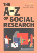 The A-Z of Social Research 0 9780761971337 0761971335