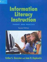 Information Literacy Instruction 2nd Edition 9781555706661 1555706665