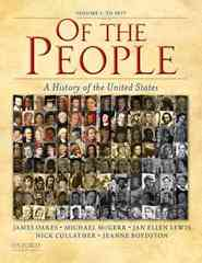 Of the People 1st Edition 9780195370942 0195370945