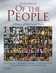 Of the People 1st edition 9780195370959 0195370953