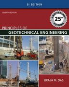 Principles of Geotechnical Engineering - SI Version 7th edition 9780495411321 0495411329