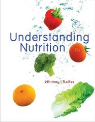 Understanding Nutrition 12th edition 9780538734653 0538734655