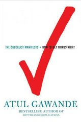 The Checklist Manifesto 1st edition 9780805091748 0805091742