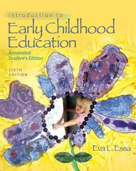 Introduction to Early Childhood Education 6th Edition 9781428360532 1428360530