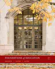 Foundations of Education 11th edition 9780495808954 0495808954