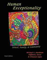 Human Exceptionality 10th edition 9780495810582 0495810584