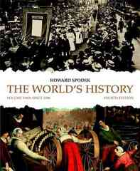 The World's History, Volume 2 4th edition 9780205708376 0205708374