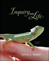 Inquiry into Life 13th edition 9780073403441 007340344X
