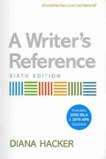 Writer's Reference 6e with 2009 MLA Update & APA Quick Reference Card 6th edition 9780312612702 0312612702