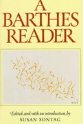 A Barthes Reader 0 9780374521448 0374521441