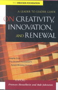 On Creativity, Innovation, and Renewal 1st edition 9780787960674 0787960675