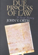 Due Process of Law 1st Edition 9780700612420 0700612424