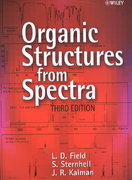 Organic Structures from Spectra 3rd edition 9780470843628 0470843624