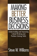 Making Better Business Decisions 0 9780761924227 0761924221