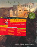 Physical Geology with in-TERRA-Active 2. 0 CD-ROM (with InfoTrac) 3rd edition 9780534538002 0534538002