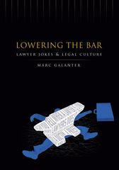 Lowering the Bar 1st edition 9780299213541 0299213544