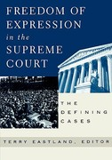 Freedom of Expression in the Supreme Court 1st Edition 9780847697113 0847697118