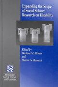Expanding the Scope of Social Science Research on Disability 0 9780762305513 0762305517