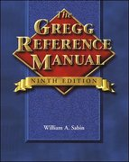 The Gregg Reference Manual (Wrap Flap) 9th edition 9780028040479 0028040473