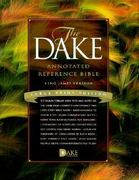 Dake Annotated Reference Bible 0 9781558291225 1558291229