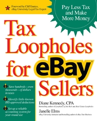 Tax Loopholes for eBay Sellers 1st edition 9780072262421 0072262427