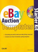 eBay Auction Templates Starter Kit 1st edition 9780789735638 0789735636