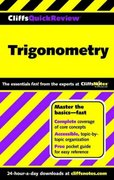 CliffsQuickReview Trigonometry 1st edition 9780764563898 0764563890