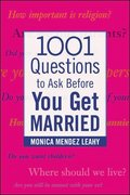 1001 Questions to Ask Before You Get Married 1st Edition 9780071438032 0071438033