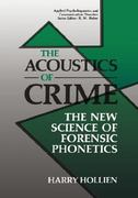 The Acoustics of Crime 1st edition 9780306434679 0306434679