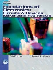 Foundations of Electronics 2nd edition 9781418005412 141800541X