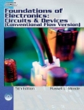 Foundations of Electronics  Circuits and Devices Conventional Flow Version