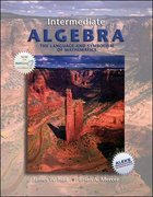 Intermediate Algebra, the Language and Symbolism of Mathematics with MathZone 1st edition 9780073229683 0073229687