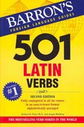 501 Latin Verbs 2nd edition 9780764137426 0764137425