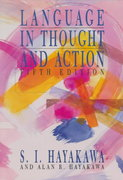 Language in Thought and Action 5th edition 9780155501201 0155501208